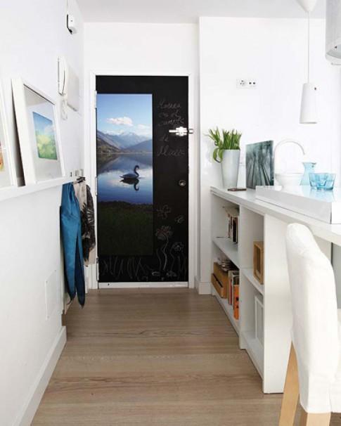 Căn hộ 40 m2 với nội thất đủ sắc màu