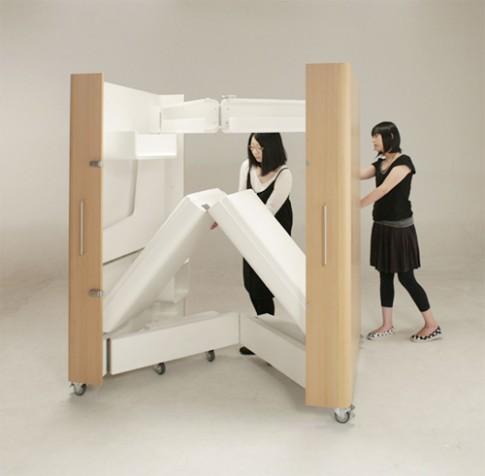 Căn phòng gói gọn trong một chiếc hộp