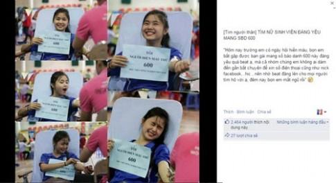 Chân dung 'nữ sinh hiến máu xinh nhất Vịnh Bắc Bộ'