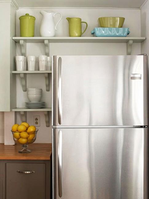 Chỉ 20 phút tủ lạnh sạch hoàn hảo