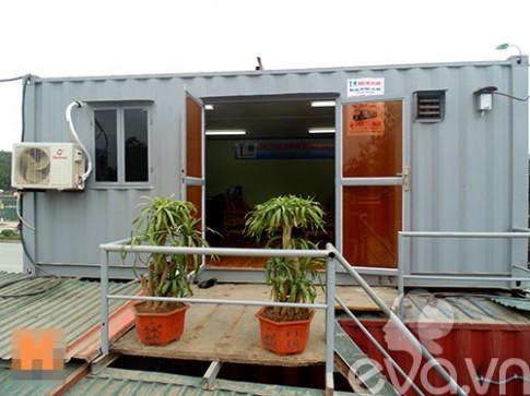 Chiêm ngưỡng văn phòng container ở Hà Nội