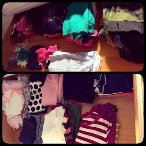 """""""Choáng"""" với tủ quần áo đồ sộ của con gái Elly Trần"""