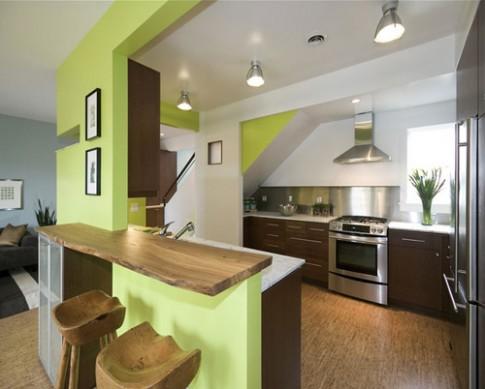 Chọn vật liệu 'giá mềm' cho sàn phòng bếp