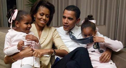 Chuyện dạy con của Tổng thống Mỹ Barack Obama
