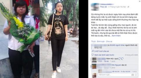 Cô gái Hà Thành giảm 54kg khiến dân mạng nể phục