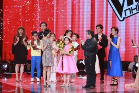 """""""Công chúa tóc mây"""" Hồng Minh đăng quang Giọng hát Việt nhí 2015"""