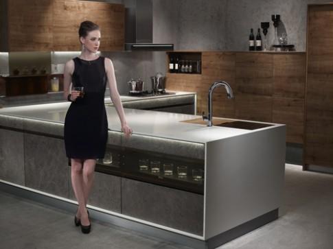 'Công nghệ hóa' nội thất nhà bếp và phòng tắm