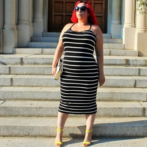 """Đã đến lúc nàng béo """"thách thức"""" định kiến về thời trang"""