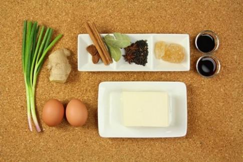 Đậu phụ kho trứng đậm đà, ấm áp
