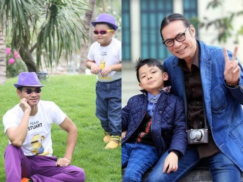 Điểm trùng hợp ngỡ ngàng của các cặp bố con sao Việt
