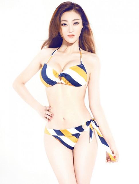 Diện bikini chuẩn như người mẫu