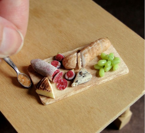 Đồ ăn từ đất sét: Nhìn như thật!