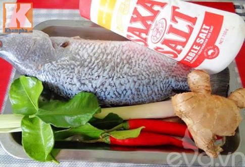 Đổi vị cho cả nhà bằng cá nướng sả ớt