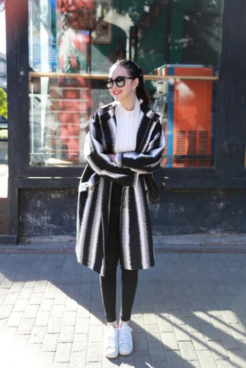 Đón đầu những kiểu áo choàng hấp dẫn cho ngày trở lạnh