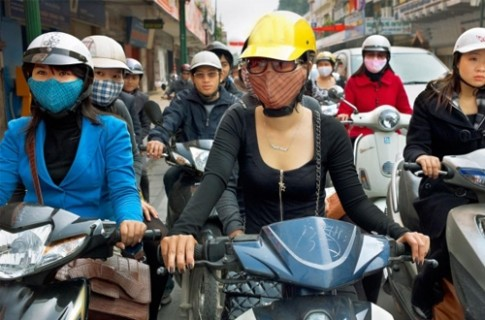 Dùng chung mũ bảo hiểm, coi chừng nấm da đầu