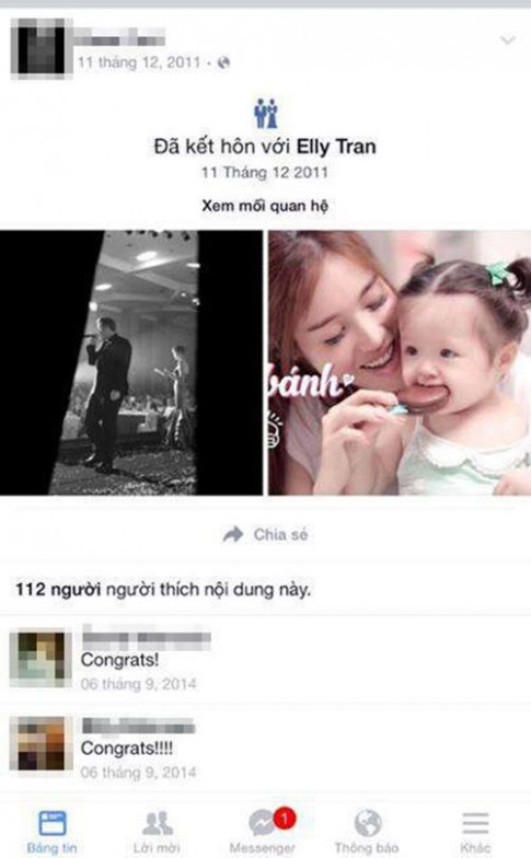 Elly Trần lên tiếng về người đàn ông được cho là bố Cadie