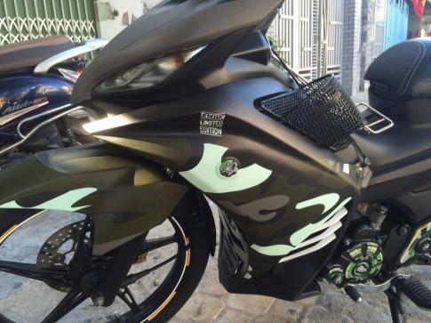 Exciter 135 độ dàn áo Người Lính của biker Ninh Bình