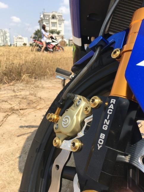 Exciter 150 độ phong cách Rossi 46