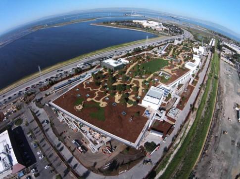 Facebook hé lộ trụ sở có công viên trên mái
