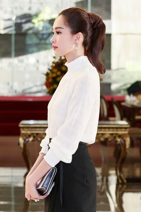 Giải nhiệt mùa hè với tóc đuôi ngựa đẹp như mỹ nhân Việt