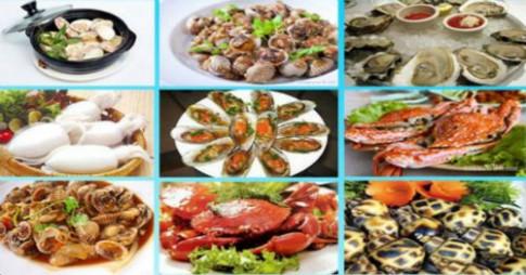 Giảm cân, đẹp dáng nhờ ăn hải sản