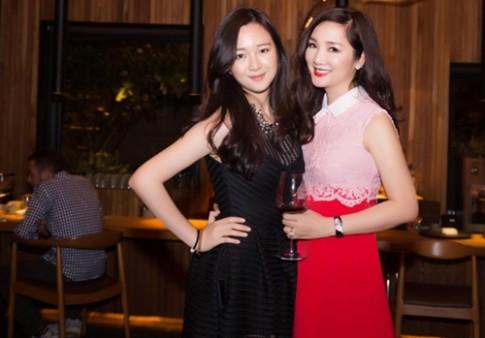 """Giáng My """"đụng"""" váy gần 100 triệu với ngọc nữ Hàn"""