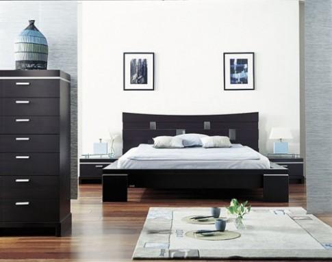 Giường kiểu Nhật đơn giản nhưng vẫn sang trọng