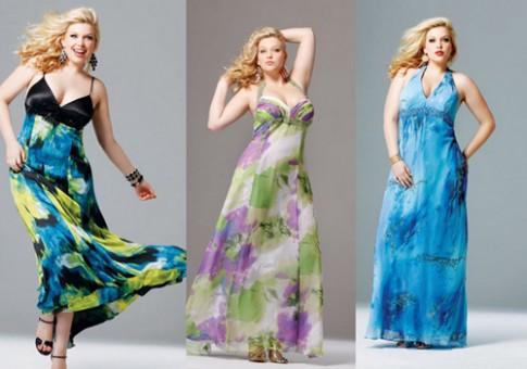 Giúp nàng béo chọn váy maxi thật đẹp diện hè