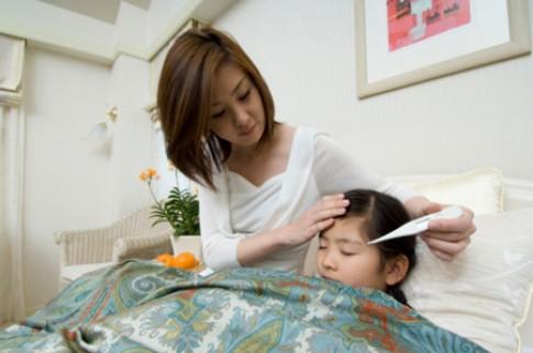 Hạ sốt cho bé bằng gạo tẻ lá nhài