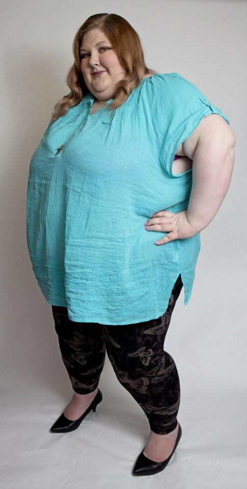 Hành trình cân nặng bất thường của cô gái béo phì