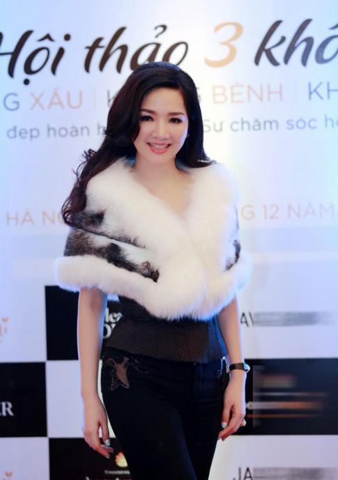 """Hoa hậu Giáng My: """"Phụ nữ muốn đẹp, phải khoẻ từ bên trong"""""""