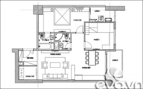 Hoàn thiện nội thất nhà 98m2 với 400 triệu đồng