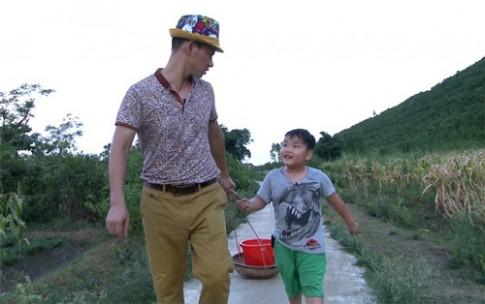 """Học lỏm sao Việt """"Bố ơi"""" dạy con nghe lời cực """"đỉnh"""""""
