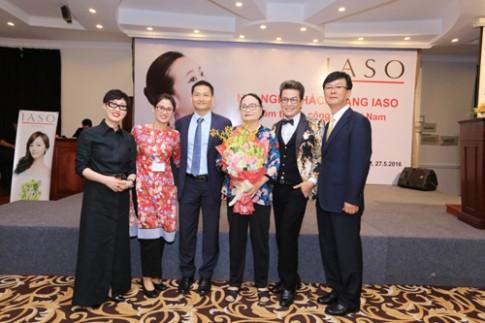 Hơn 100 đại lý mỹ phẩm IASO dự hội nghị khách hàng.