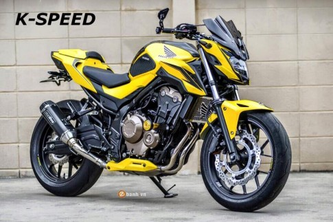Honda CB500F đầy phong cách trong phiên bản Dark Moon