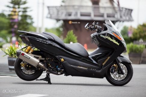 Honda Forza đầy nổi bật và phong cách với phiên bản Super Black