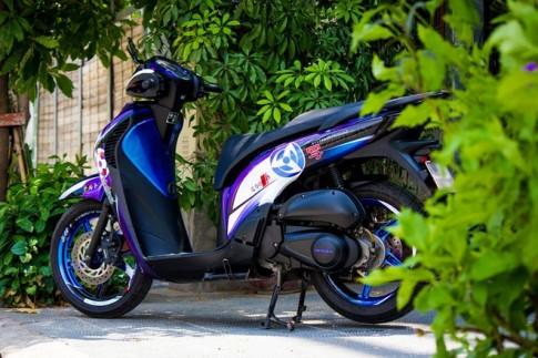 Honda SH 2010 lên tem đấu phong cách Sharingan