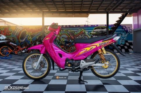 Honda Wave 125 hồng cá tính của dân chơi Thái Lan