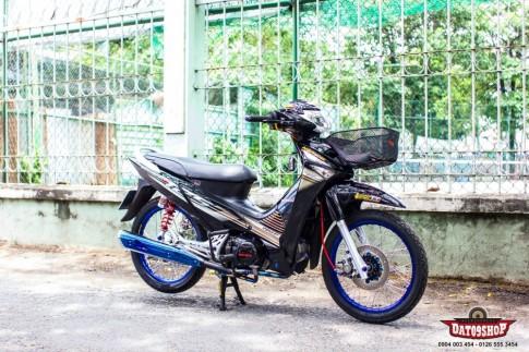 Honda Wave 125i do phong cach Thai cua biker Viet