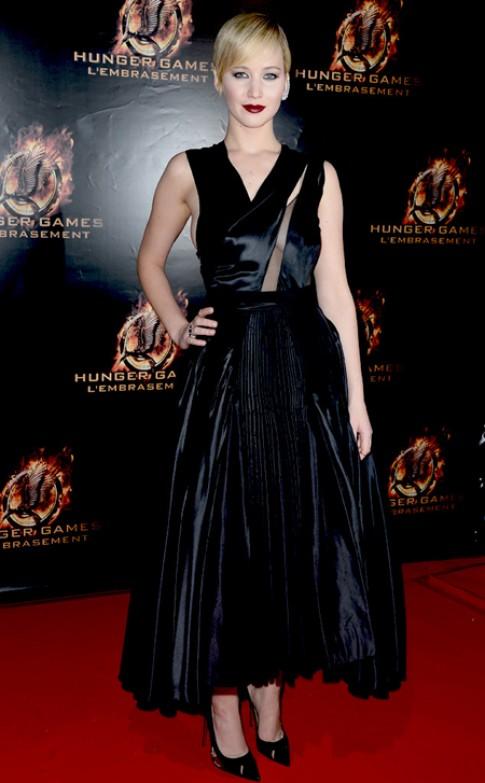 Jennifer Lawrence là ngôi sao thảm đỏ tuần qua