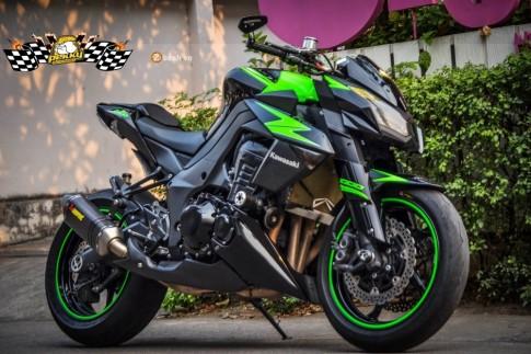 Kawasaki Z1000 đầy ấn tượng với bản độ đơn giản và phong cách