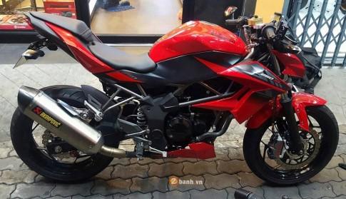 Kawasaki Z250SL độ đầy mạnh mẽ và phong cách