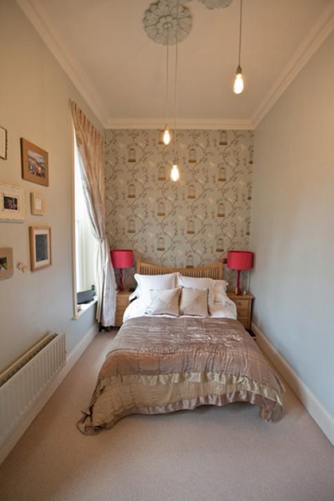 Kê đồ trong phòng ngủ nhỏ hẹp