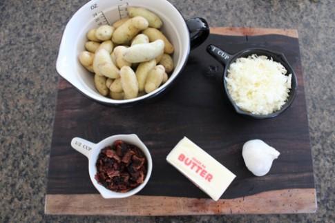 Khoai tây nướng thịt muối ngon mềm