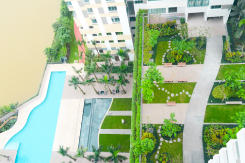 Không gian sống thân thiện với kiến trúc xanh