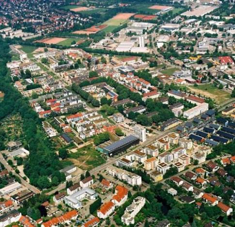 Khu dân cư không cần đến điều hòa ở Đức