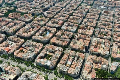 Kiến trúc Eixample (Barcelona) khác hẳn Việt Nam