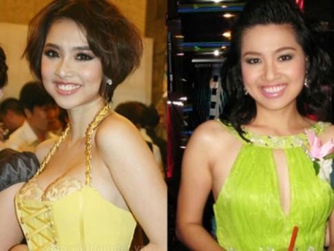 Kỳ lạ mỹ nhân Việt giống nhau như chị em trong nhà