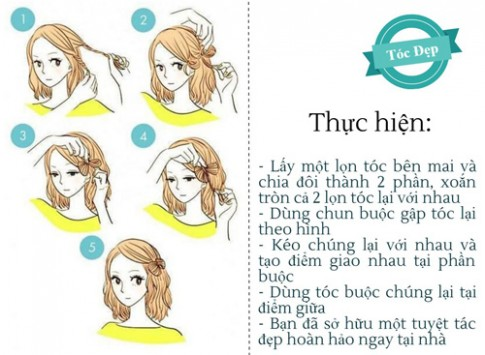 Làm mới chính mình bằng 6 kiểu tóc không tốn 1 xu