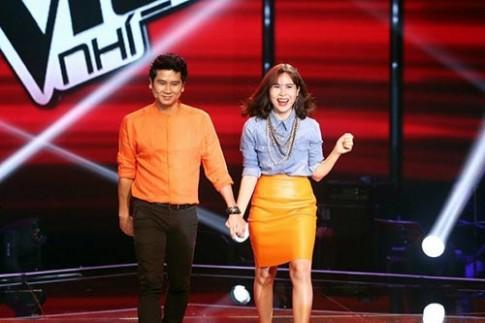 Liveshow 4 GHVN: Hồ Hoài Anh đích thân đệm bè cho Huyền Trân